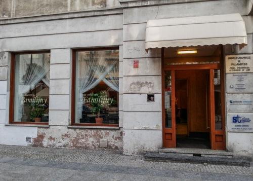 Familijny milk bar in Warsaw