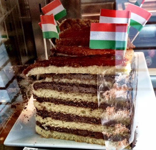 Hungarian Dobos Torte