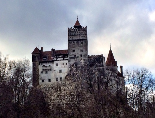 Dracula's castle (maybe) in Bran