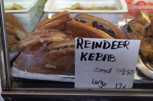 Reindeer kebab anyone?