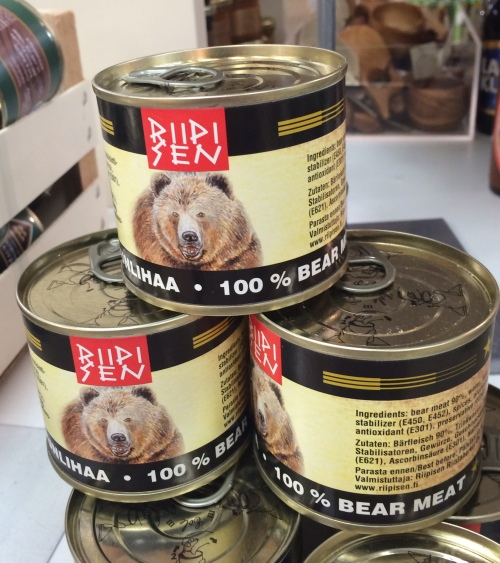 100% bear meat with only 90% bear...