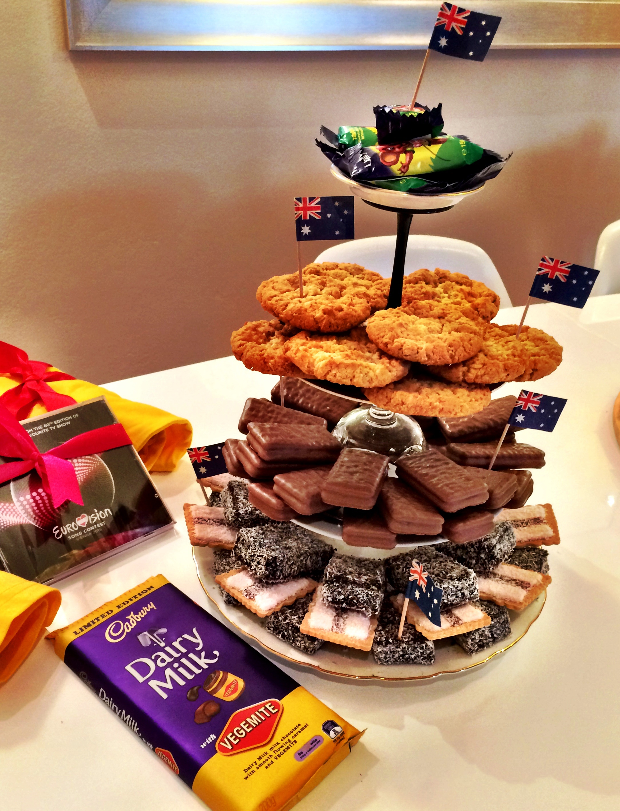 Behind The Scenes At A Eurovision Party Thefidgetyfoodie