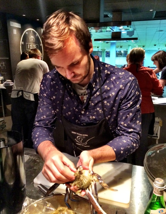the fidgety foodie_sydney seafood school (2)